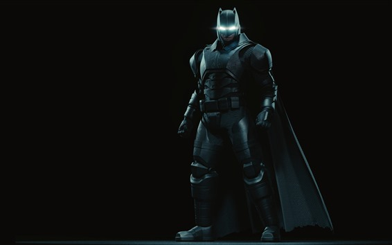 Wallpaper Batman, superhero, mask, black background