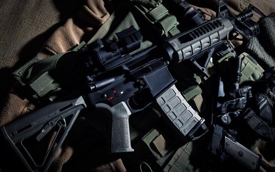 Fond d'écran Beretta M9 carabine automatique, arme