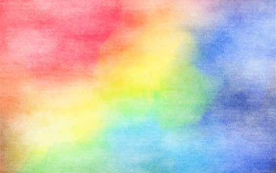 Wallpaper Colorful colors, watercolors, abstract picture