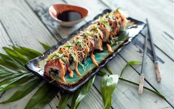 Papéis de Parede Comida, sushi, comida japonesa
