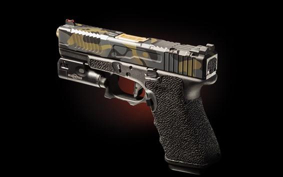 Fond d'écran Pistolet, gros plan, arme
