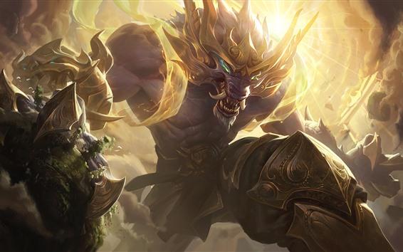 Papéis de Parede League of Legends, monstro