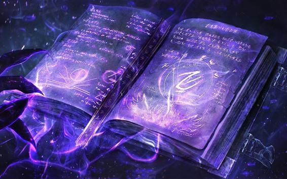 Papéis de Parede Livro mágico, criativo