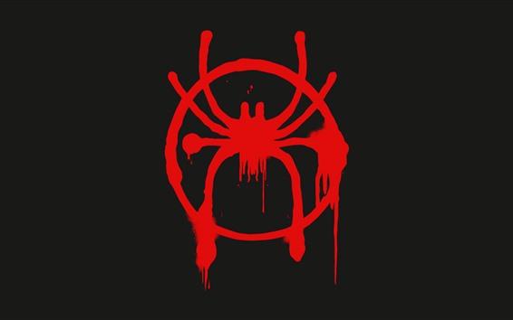 Hintergrundbilder Spider-Man-Logo, Kunst Bild