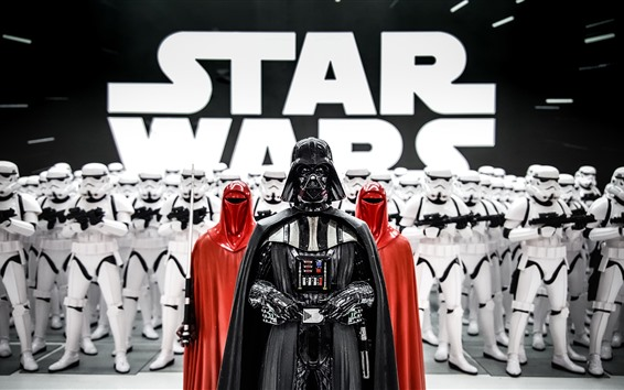 Wallpaper Star Wars, Darth Vader, soldiers