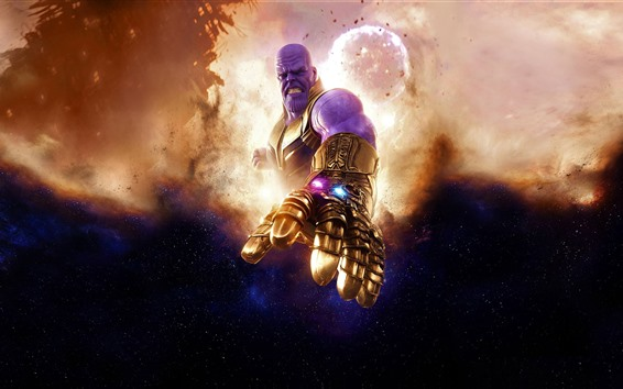 Wallpaper Thanos, DC comics, movie