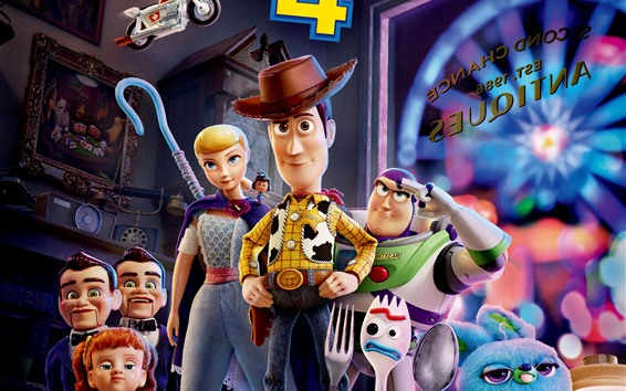 Wallpaper Toy Story 4, movie 2019