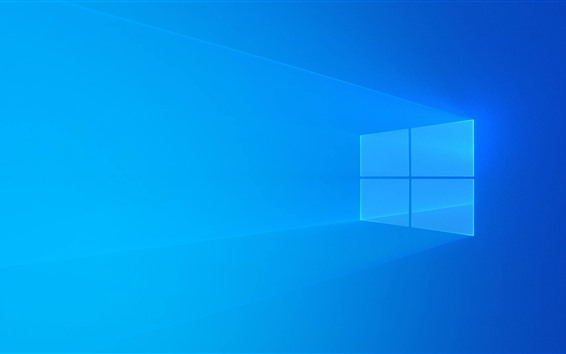 Wallpaper Windows 10 Blue Background Light Abstract Design