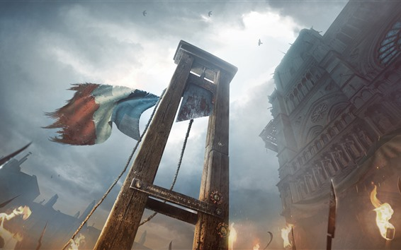 Wallpaper Assassin's Creed, France, Paris