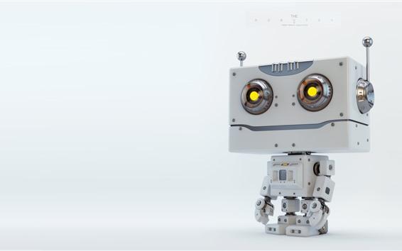 Обои Милый робот, креативный дизайн