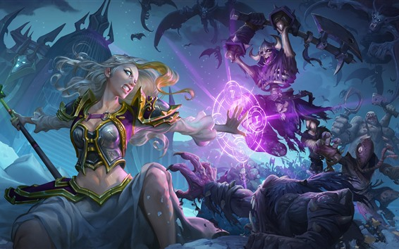 Wallpaper Hearthstone: Heroes of Warcraft