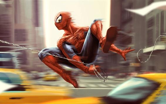 Fond d'écran Spider-man, vitesse, anime