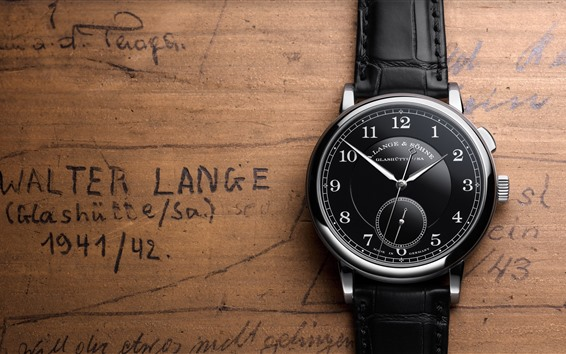Fondos de pantalla Reloj estilo negro