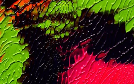 Wallpaper Colorful paint, texture