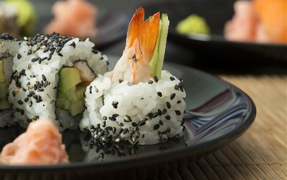 Hintergrundbilder Japanische Küche, Reis, Sushi
