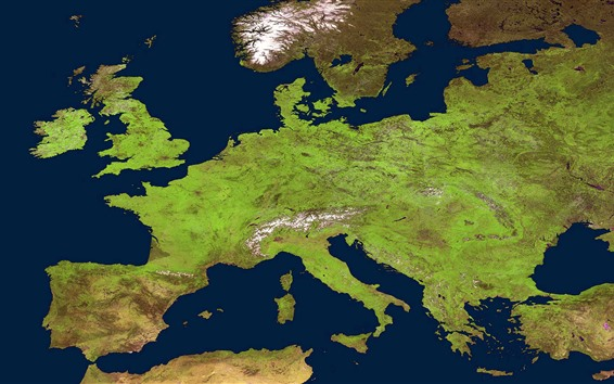 Fond d'écran Carte de l'Europe