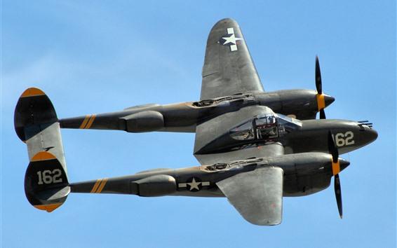 Wallpaper P-38 fighter