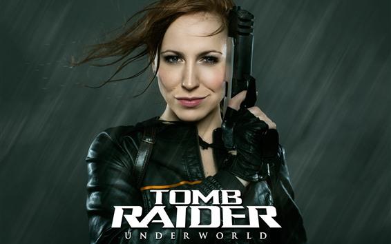 Hintergrundbilder Cosplay Mädchen, Lara, Tomb Raider: Underworld