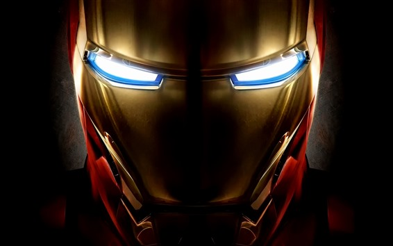 Обои Железный человек, лицо, маска