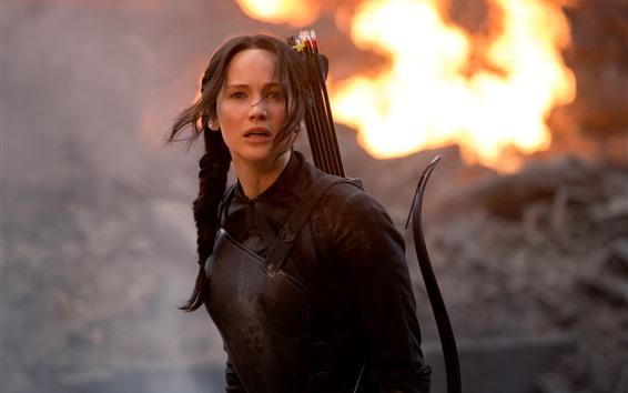 Fond d'écran Jennifer Lawrence, les jeux de la faim