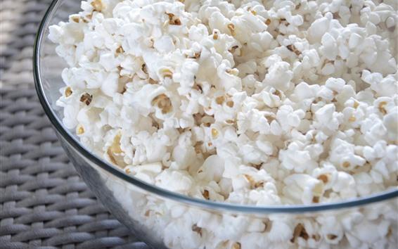 Wallpaper Popcorn corn