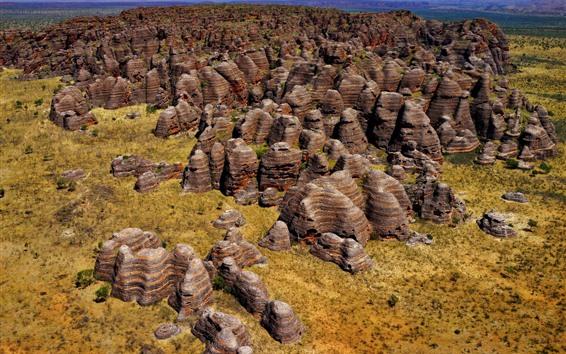 Papéis de Parede Rochas, montanhas, parque nacional purnululu, austrália