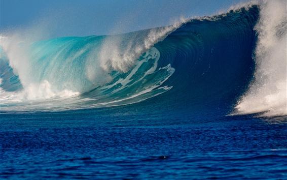 Обои Морские волны, плеск воды, супер сила природы