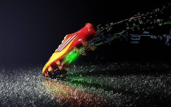 Обои Спортивная обувь, креативная реклама