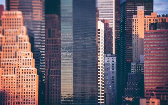 Papéis de Parede Cidade, arranha-céus