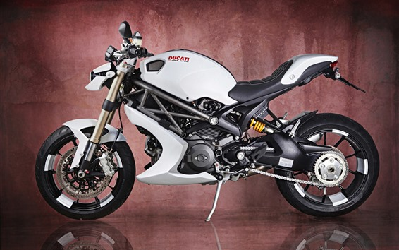 Wallpaper Ducati Monster 1100 EVO motorcycle