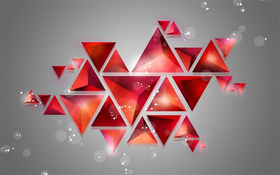 Wallpaper Geometric shapes, abstract