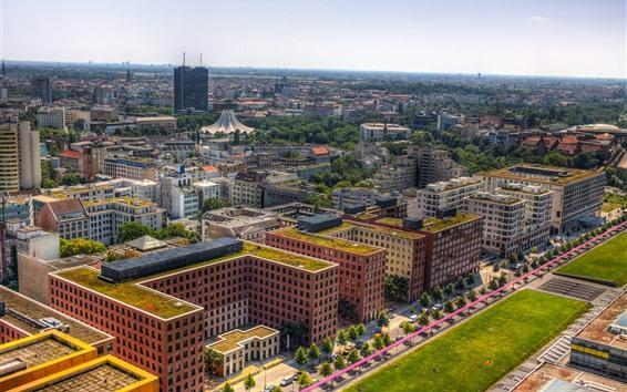 Wallpaper Germany, Berlin, city, buildings