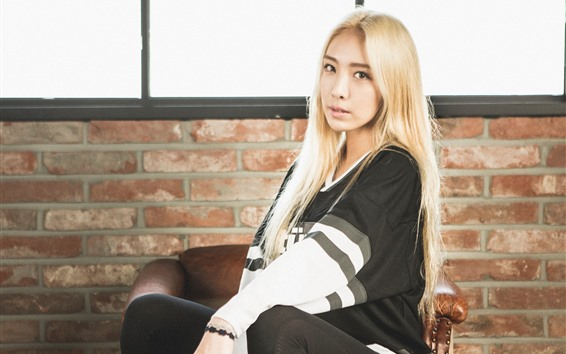 Hintergrundbilder Jung Yoojin, tapfere Mädchen