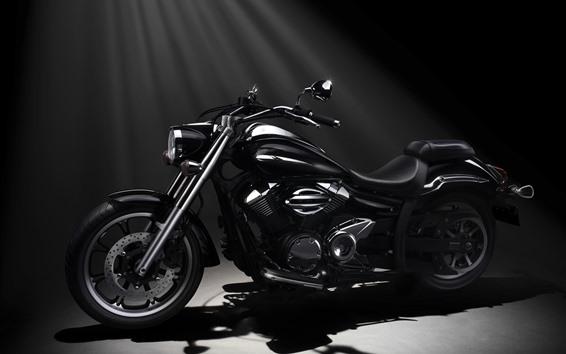 Papéis de Parede Motocicleta Yamaha XVS950A Midnight Star