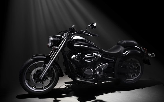 Wallpaper Yamaha XVS950A Midnight Star motorcycle