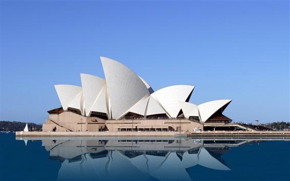 Обои Австралия, Сидней, Оперный театр