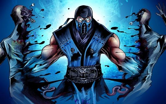 Wallpaper Mortal Kombat, ninja