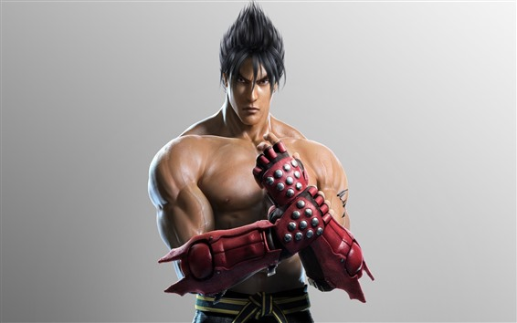 Wallpaper Tekken, man, gloves