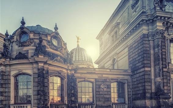Wallpaper City, architecture, light, glare