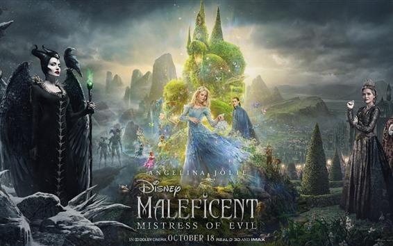 Fondos de pantalla Película de Disney de 2019, Maléfica: Mistress of Evil
