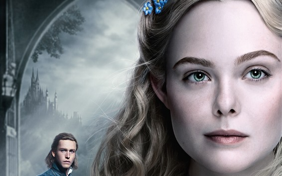 Wallpaper Elle Fanning, Maleficent: Mistress of Evil