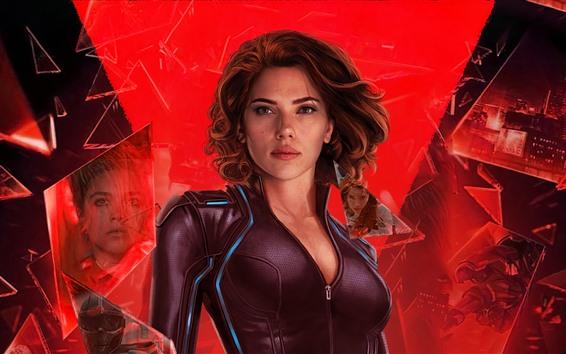 Fondos de pantalla Scarlett Johansson, Black Widow 2020