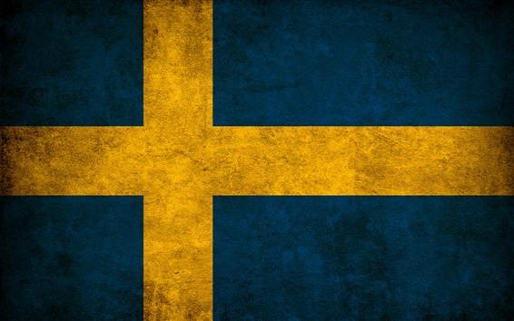 Обои Флаг Швеции