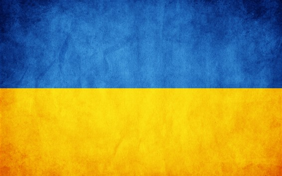 Wallpaper Ukraine flag