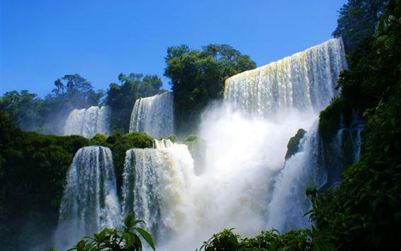Обои Водопады, ручей, природа