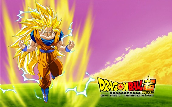 Wallpaper Dragon Ball Super, classic anime