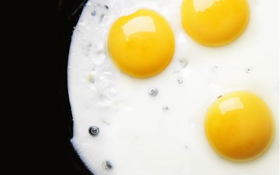 Papéis de Parede Ovos fritos