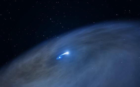 Wallpaper Hubble, space, universe, stars, light