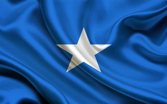 Обои Флаг Сомали