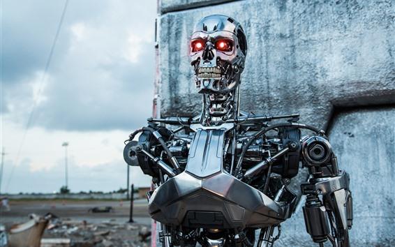 Papéis de Parede Terminator, robot